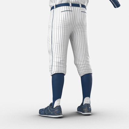 Baseball Player Outfit Generic 8. Render 19