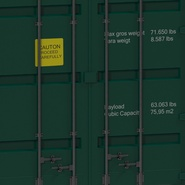 40 ft High Cube Container Green. Preview 24