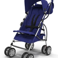 Baby Stroller Blue. Preview 18