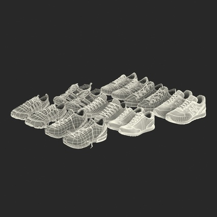 Sneakers Collection 4. Render 132