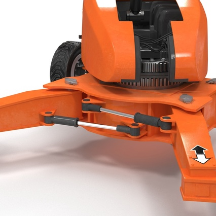 Telescopic Boom Lift Generic 4 Pose 2. Render 41