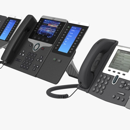 Cisco IP Phones Collection 6. Render 12