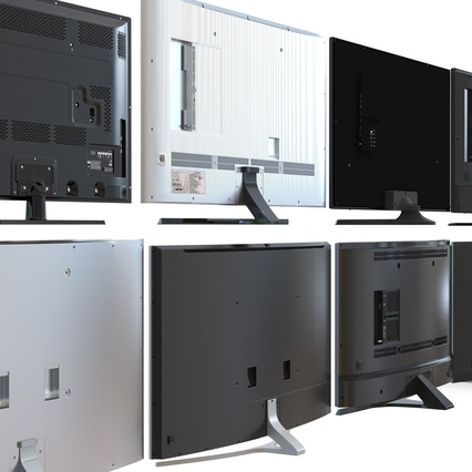 Generic TV Collection. Render 21