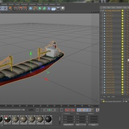 Sea Cargo Ship Generic. Preview 29