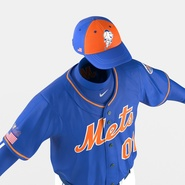 Baseball Player Outfit Mets 2. Preview 25