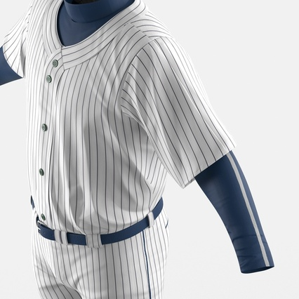 Baseball Player Outfit Generic 8. Render 21