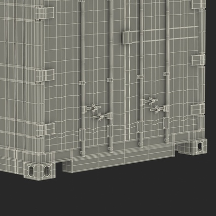 ISO Refrigerated Container. Render 44