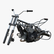 Motorcycle Engine and Frame