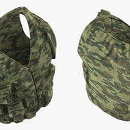 Military Camouflage Vest. Preview 9