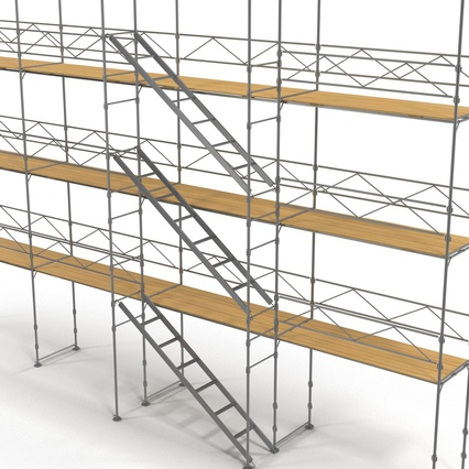 Scaffolding Collection 2. Render 32