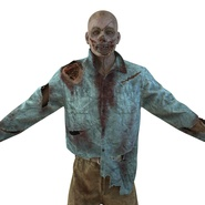 Zombie Rigged for Cinema 4D. Preview 22
