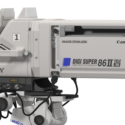Professional Studio Camera DIGI SUPER 86II. Render 32