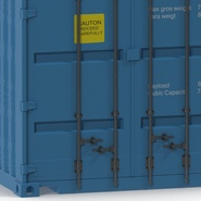 40 ft High Cube Container Blue 2. Preview 24