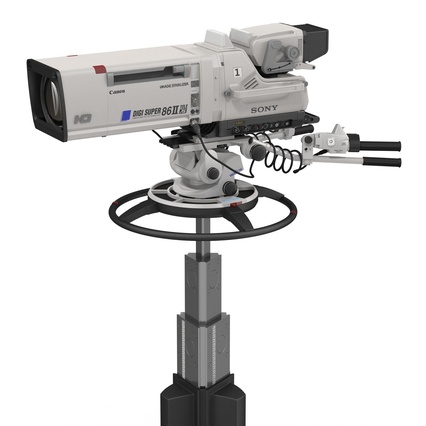 Professional Studio Camera DIGI SUPER 86II. Render 15