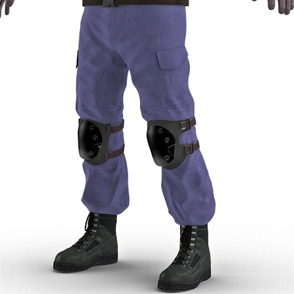 SWAT Uniform. Render 29