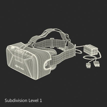 Virtual Reality Goggles Collection. Render 82