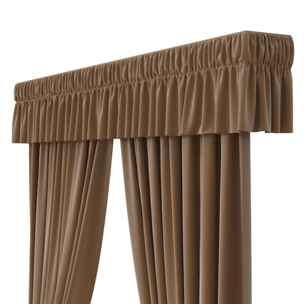 Curtains Collection. Render 32