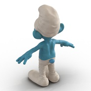 Smurf Rigged for Maya. Preview 10