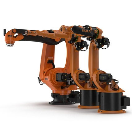 Kuka Robots Collection 5. Render 9