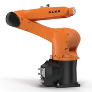 Kuka Robot KR 10 R1100 Rigged. Preview 13