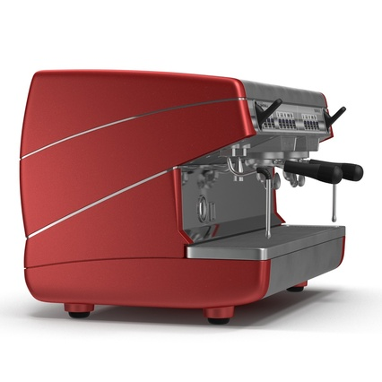 Espresso Machine Simonelli. Render 8