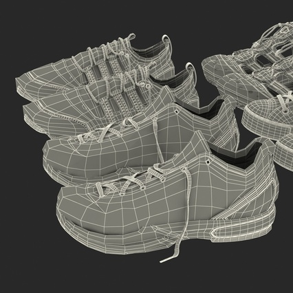 Sneakers Collection 4. Render 138