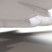Jet Airliner Airbus A330-300 Emirates Rigged. Preview 49