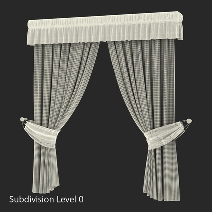 Curtains Collection. Render 60