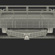 Airport Transport Trailer Low Bed Platform Rigged. Preview 28