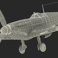 Royal Air Force Fighter Supermarine Spitfire LF Mk IX Rigged. Preview 27