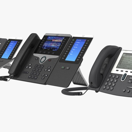 Cisco IP Phones Collection 6. Render 9