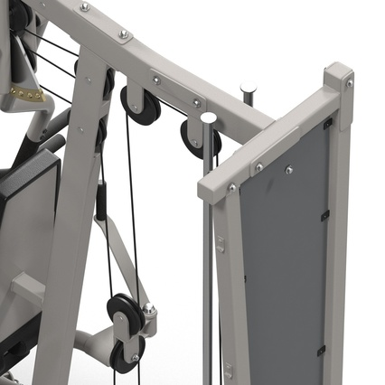 Weight Machine 2. Render 30