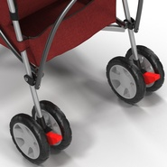Baby Stroller Red. Preview 36