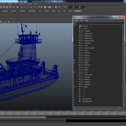 Pushboat. Render 37