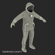 Russian Space Suit Sokol KV2 Rigged. Preview 53