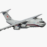Ilyushin Il-76TD-S Civilian Mobile Hospital Rigged