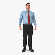 Office Worker Standing Pose