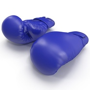 Boxing Gloves Blue. Preview 6