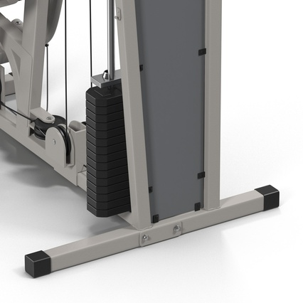 Weight Machine 2. Render 35