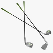 9 Iron Golf Club Generic. Preview 1