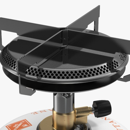Single Burner Camping Gas Stove Kovea. Render 11