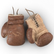 Old Leather Boxing Glove(1). Preview 10