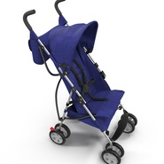 Baby Stroller Blue. Preview 14