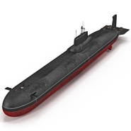 Typhoon Class Submarine. Preview 1