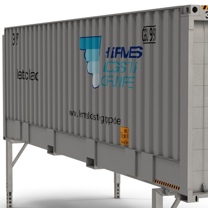 Swap Body Container ISO. Render 17