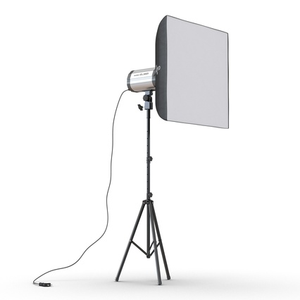 Photo Studio Lamps Collection. Render 50