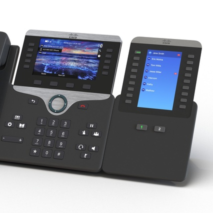 Cisco IP Phones Collection 6. Render 24