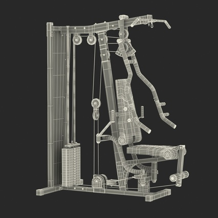 Weight Machine 2. Render 44