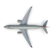 Jet Airliner Airbus A330-300 Northwest Airlines Rigged. Preview 17