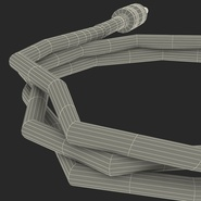 Guitar Cable Rigged for Cinema 4D. Preview 35